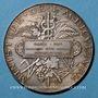Coins Rodez. Concours régionale hippique. 1884. Médaille en argent. 41,4 mm