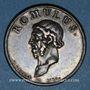Coins Romulus, fondateur de Rome. Médaille argent (18e)