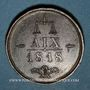 Coins Russie. Alexandre I. Congrès d'Aix-la-Chapelle. 1818. Médaille bronze