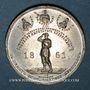Coins Russie. Alexandre II. Emancipation des serfs. 1861. Médaille en étain
