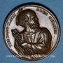 Coins Saint-Pierre. Médaille bronze. 37 mm