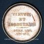 Coins STUTTGART. Lycée royal. Prix d'école. Médaille en argent. 26,80 mm