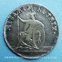 Coins Suisse. Bâle. 3e centenaire de l'université 1760. Médaille argent 21,5 mm, gravée par Mörikofer