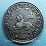 Coins Suisse. Bâle. Médaille de morale (17e siècle). Argent. 21,4 mm