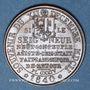 Coins Suisse. Genève. Commémoration de l'Escalade de Genève. 1840. Médaille bronze. 25 mm