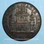 Coins Urbain VIII (1623-1644). Restauration de la façade de Sainte Anastasie. Médaille de restitution, bro