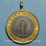 Coins Vatican. Léon XIII (1878-1903). Commémoration de l'Immaculée Conception. (1878). Médaille