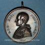 Coins Vatican. Léon XIII (1878-1903) - La basilique St Pierre. Médaille en bronze. 46,9 mm