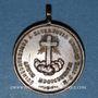 Coins Vatican. Léon XIII (1878-1903. Sacerdoce. 1887. Médaille cuivre