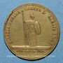 Coins Vatican. Pie IX (1846-1878). Création de la garde civique pontificale. 1847. Médaille en bronze
