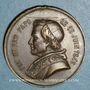 Coins Vatican. Pie IX (1846-1878). Décès du pape, 1878. Médaille bronze