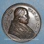 Coins Vatican. Pie IX (1846-1878). Défense des droits de l'Eglise, an XXIV - 1869. Médaille cuivre