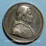 Coins Vatican. Pie IX (1846-1878). Election du pape (1846). Médaille étain