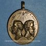 Coins Vatican. Pie IX (1846-78). Election pontificale-Dévotion à St Pierre & St Paul, an 1 (1846) Médaille