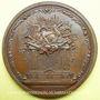 Coins Voltaire (1694-1778). Médaille bronze 1770. Signé G.C. WAECH - TERF.