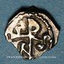 Coins Les Mérovingiens. Marseille. Nemfidius, patrice (vers 700-710). Denier
