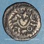 Coins Mérovingiens. Strasbourg (?). Epoque d'Adalbert 683-723. Denier immobilisé