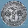 Coins Algérie. Chambre de Commerce d'Alger. 10 centimes 1916. Fer