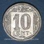 Coins Algérie. Chambre de Commerce de Constantine. 10 cent