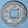 Coins Annam, Monnayages privés (XVII-XVIIIe), inscriptions monétaires vietnamiennes (1746-74), sapèque