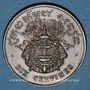 Coins Cambodge. Norodom I (1860-1904). 10 centimes 1860