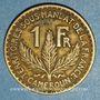 Coins Cameroun. Territoires sous mandat français (1919-1945). 1 franc 1925