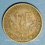 Coins Cameroun. Territoires sous mandat français (1919-1945). 1 franc 1926