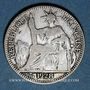 Coins Indochine française. 10 cent 1928 A