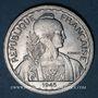 Coins Indochine française. 20 cent 1945 C. Castelsarrazin