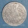 Coins Maroc. Abdoul Aziz I (1311-26H). 1 dirham 1315H. Paris