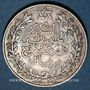 Coins Maroc. Moulay Hafid (1326-1330H = 1908-1912). 2 1/2 dirhams 1329H, Paris