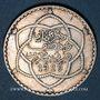 Coins Maroc, Moulay Hafid (1326-30H = 1908-12), 2 1/2 dirhams 1329H, Paris