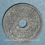 Coins Tunisie. Mohammed al -Amine, bey (1362-76H). 10 centimes 1945 petit module