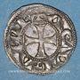 Coins Aquitaine. Aliénor d'Aquitaine (1189-1204). Denier