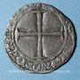 Coins Aquitaine. Edouard IV le Prince Noir (1362-1372). Denier. Bordeaux
