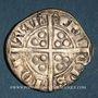 Coins Aquitaine. Edouard IV le Prince Noir (1362-1372). Esterlin. Bordeaux, 2e émission