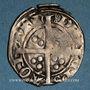 Coins Aquitaine. Edouard IV le Prince Noir (1362-1372). Esterlin. Limoges, 2e émission