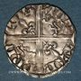 Coins Aquitaine. Edouard IV le Prince Noir (1362-1372). Hardi. Poitiers