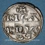 Coins Aquitaine. Richard Coeur de Lion (1169-1196). Denier, 1er type