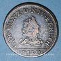 Coins Ardennes. Princ. d'Arches & Charleville. Charles I de Gonzague (1601-37). Liard au buste étroit 1610