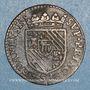 Coins Ardennes. Principauté de Sedan. Henri de la Tour d'Auvergne (1594-1623). Double liard 1614. Sedan