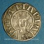 Coins Auvergne. Evêché de Clermont. Monnayage anonyme (13e siècle). Denier