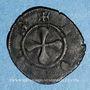 Coins Auvergne. Evêché du Puy. Denier, XIVe siècle
