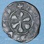 Coins Auvergne. Evêché du Puy. Obole (XIVe siècle). Type avec légendes