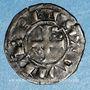 Coins Berry. Seigneurie d'Issoudin. Guillaume de Chauvigny (1212-1234). Denier