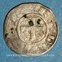 Coins Berry. Seigneurie de Déols. Raoul VI (1160-1176). Denier