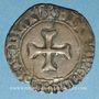 Coins Bretagne. Jean V (1399-1442). Blanc à la targe. Redon (?)
