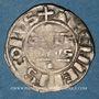 Coins Champagne. Archevêché de Reims. Guillaume I (1176-1202). Denier