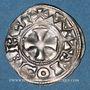 Coins Champagne. Comté d'Auxerre (11e siècle). Monnayage anonyme. Denier. Type rare !