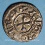 Coins Champagne. Comté d'Auxerre. Monnayage anonyme (10e - 12e siècle). Denier